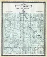 Sterling Township, Utica, Clinton River, Macomb County 1895