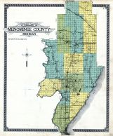 County Outline Map, Menominee County 1912