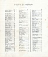 Index to Illustrations, Menominee County 1912