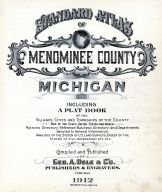 Title Page, Menominee County 1912
