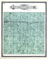 Township 38 N., Range 25 W., Indiantown, Harris, Chicago Northwestern R.R. Wilson Station and P.O., Menominee County 1912