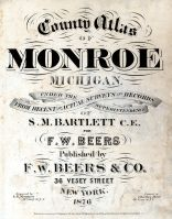 Title Page, Monroe County 1876