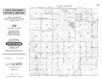 Dalton Township, Lakewood, Fox Lake, North Lake, Twin Lake, Muskegon County 1959