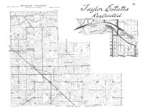 Fruitport Township, Taylor Estates, Black Creek, Muskegon County 1959