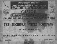 Title Page, Muskegon County 1959