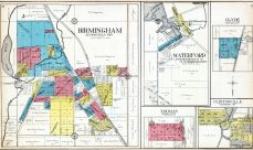 Birmingham, Waterford, Thomas, Clyde, Clintonville, Oakland County 1908