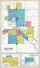 Milford, Commerce, Walled Lake, Oakland County 1908