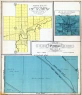 Pontiac City - Section 19, Outlots, Oakland County 1908