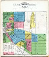 Pontiac City - Section 33, Oakland County 1908