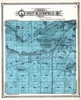 West Bloomfield Township, Oakland County 1908