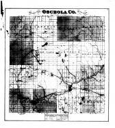 County Map, Osceola County 1878