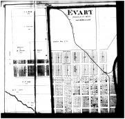 Evart - Above Left, Osceola County 1878