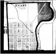 Evart - Above Right, Osceola County 1878