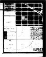 Reed City - Below Left, Osceola County 1878