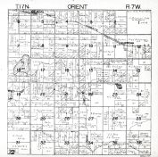 Orient Township, Sears, Chippewa, Big Lake, Rattail Lake, Osceola County 194x