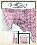 Spring Lake Township, Ferrysburg, Oak Park, Sunny Side, Belle Point, Lloyds Bayou, Ottawa County 1912