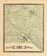 Ada Township, Ottawa and Kent Counties 1876