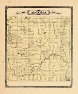 Algoma Township, Ottawa and Kent Counties 1876