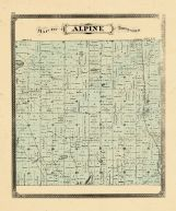 Alpine Township, Ottawa and Kent Counties 1876