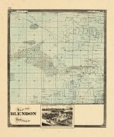 Blendon Township, Ottawa and Kent Counties 1876