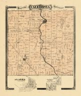 Caledonia Township, Ottawa and Kent Counties 1876