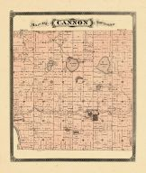 Cannon Township, Ottawa and Kent Counties 1876