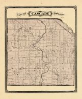 Cascade Township, Ottawa and Kent Counties 1876