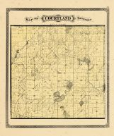 Courtland Township, Ottawa and Kent Counties 1876