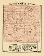 Gaines Township, Ottawa and Kent Counties 1876