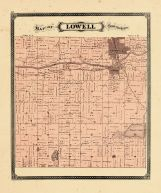 Lowell Township, Ottawa and Kent Counties 1876