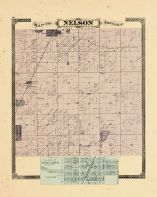 Nelson Township, Ottawa and Kent Counties 1876