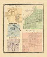 Sparta Centre, Grandville, Grattan Center, Cedar Springs, Cannonsburg, Ottawa and Kent Counties 1876