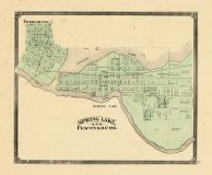 Spring Lake and Ferrysburg, Ottawa and Kent Counties 1876