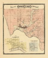 Springlake Township, Ottawa and Kent Counties 1876