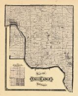 Tallmadge Township, Ottawa and Kent Counties 1876