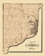 Walker Township, Ottawa and Kent Counties 1876