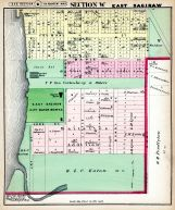 East Saginaw City - Section W, Saginaw County 1877