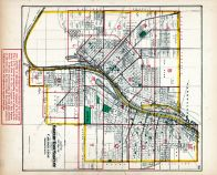 Index Map - Saginaw and East Saginaw Cities, Saginaw County 1877