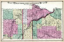 Swan Creek, James and Spalding Township, Saginaw County 1877