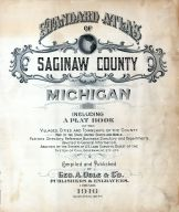 Title Page, Saginaw County 1916