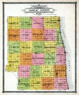 Outline Map, Sanilac County 1906