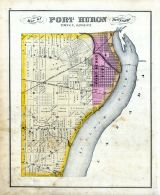 Port Huron Township, St. Clair County 1876