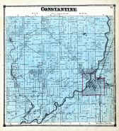 Constantine Township, St. Joseph County 1872