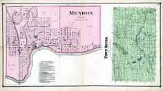 Fall River Township, Mendon, St. Joseph County 1872