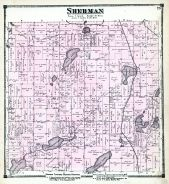 Sherman Township, St. Joseph County 1872