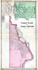 Three Rivers - Ward 3, Fawn River, Parkville, St. Joseph County 1872