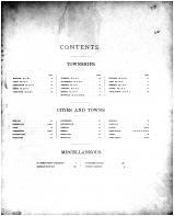 Table of Contents, St. Joseph County 1893