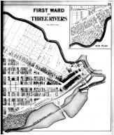 Three Rivers - First Ward - Right, St. Joseph County 1893