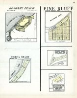 Benhams Beach, Pine Bluff, Helena Beach, Leader Bluff, Hagerman and Burghardt Heights, St. Joseph County 1930
