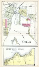 Colon, Shorewood Beach, St. Joseph County 1930